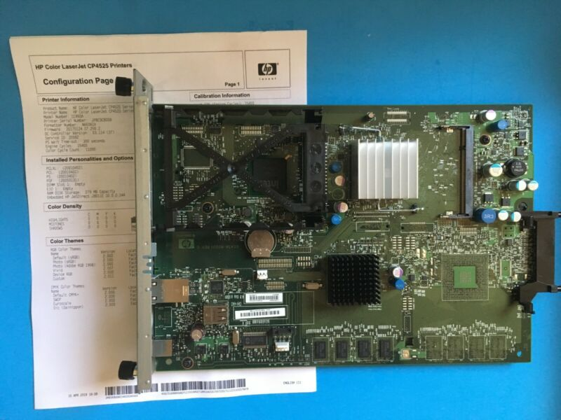 CC493-69001 HP Color LaserJet CP4025 CP4525 Formatter 30-DAY WARRANTY