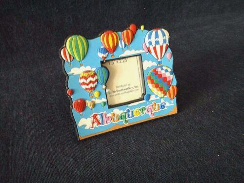 Albuquerque Balloon Photo Magnet, New Mexico Travel Souvenir