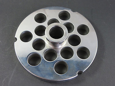 52 34 20.0 Mm Holes Stainless Meat Grinder Disc Plate For Hobart Biro Berkel