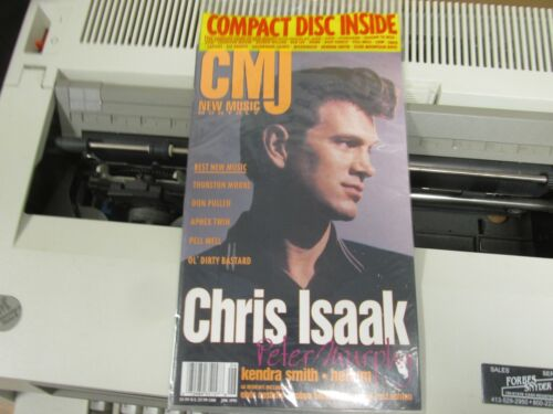 SEALED Chris Isaak color cover CMJ new music monthly June 1995 SEALED with cd