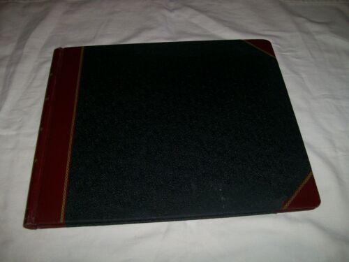 Vtg Standard Columnar Record Book #25 Ledger Boorum & Pease 152 numbered pages