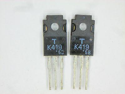 2sk419 Original Toshiba Fet Transistor 2 Pcs