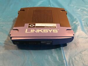 Rooter Linksys EtherFast Cable/DSL avec 4-Port