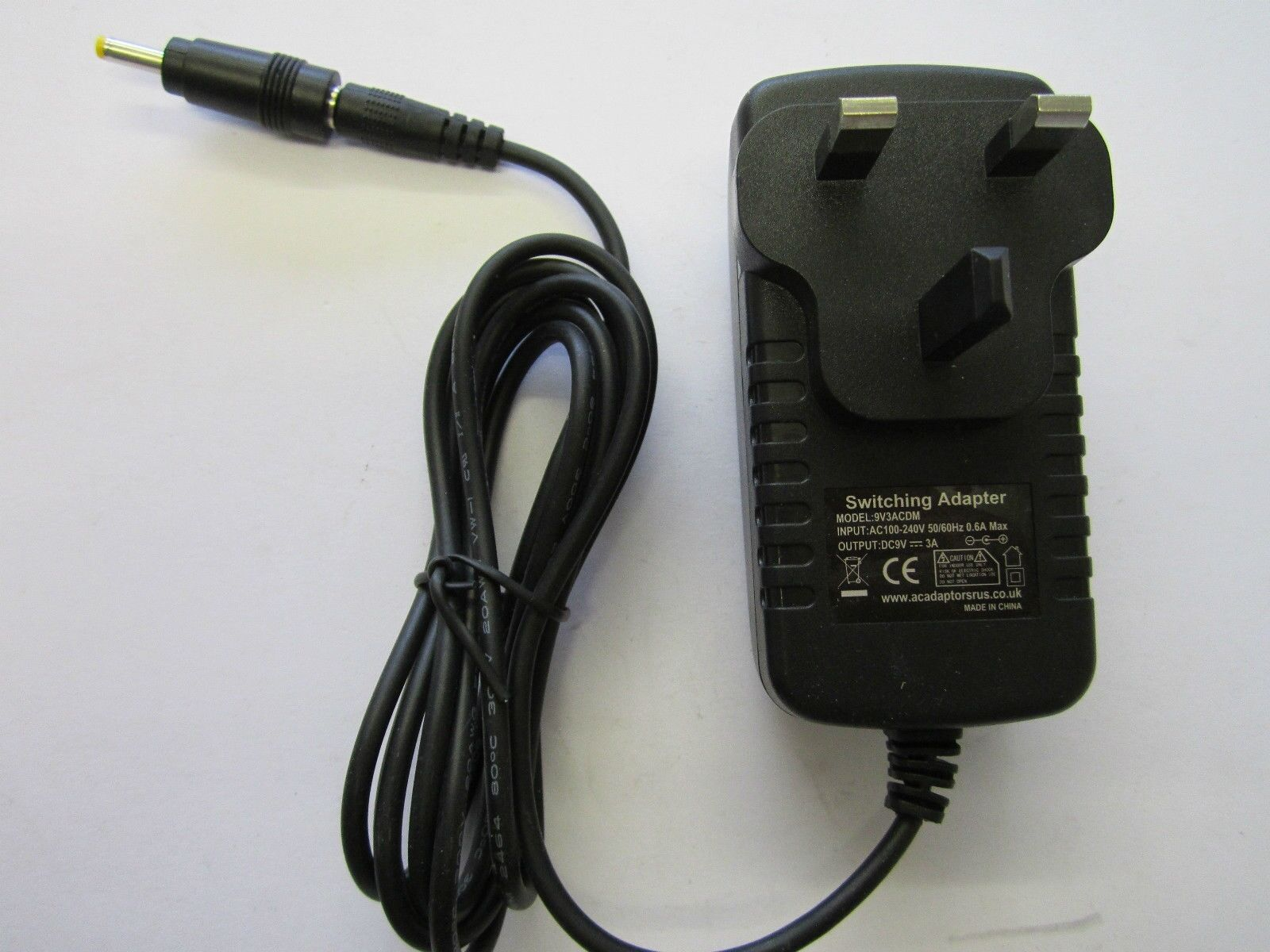 9V 3A Mains ACDC Adaptor Power Supply Charger 4 Polaroid CZK05300B