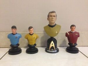 STAR TREK BUSTS STATUES COLLECTIBLE FIGURES