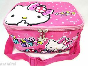 Hello Kitty Lunch Bag With Shoulder Strap 79