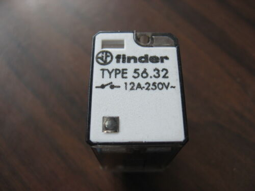 Finder 56.32 Cube Relay  (8 Pin Square, 24 VDC Coil)