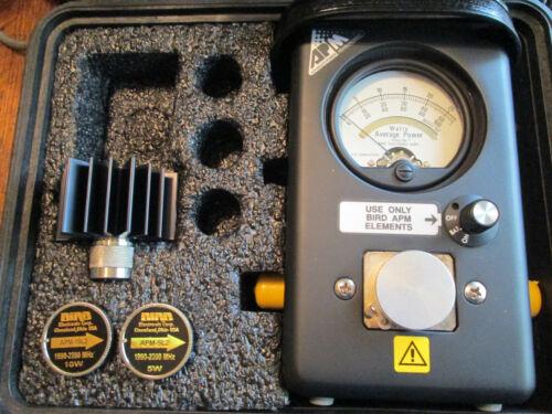 Bird Thruline APM-16 & 2 Elements Wattmeter 43