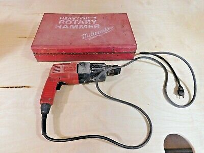Milwaukee Falcon 5366-1 34 Inch Rotary Hammer Drill In Metal Case