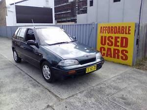 1995 Suzuki Swift Hatchback 1 Year Roadside Assist Woy Woy Gosford Area Preview