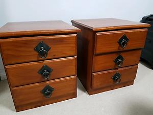 Bedside Tables x 2 Sans Souci Rockdale Area Preview
