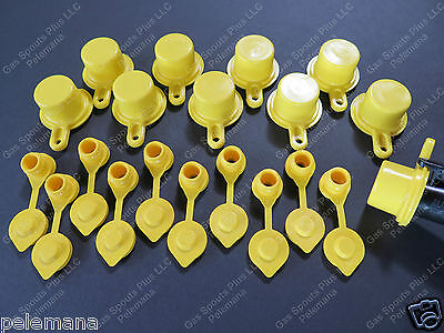 10 Blitz Spout Caps 10 Yellow Gas Can Vents Ships Free Fix Your Blitz Gas Can