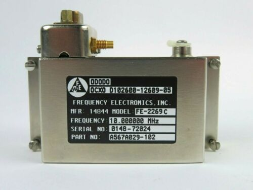 Frequency Electronics FE-2269C 10MHz Frequency Standard