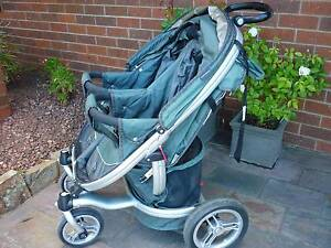 Valco Baby Ion for 2 Twin - Double Pram, Stroller with Large Hood Prospect Launceston Area Preview