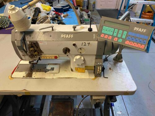 pfaff 1420 walking foot commercial with computer controls table and motor
