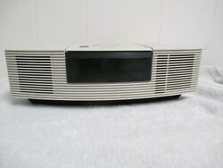 White BOSE Wave AWRC-1P CD Player AM/FM Radio Alarm Clock Music System