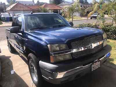 2004 Chevrolet Silverado 1500 C1500 2004 Chevrolet Silverado 1500 Pickup Blue RWD Automatic C1500