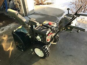 "30"" Yardworks Snowblower."