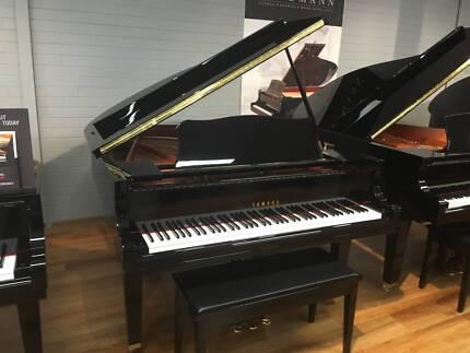 New Yamaha GC1M Baby Grand Piano 10 YEAR WARRANTY