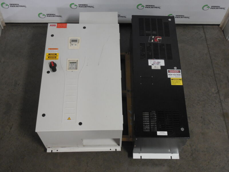 150 HP ABB HVAC Drive with TCI Harmonic Filter ACH550-BCR-180A-4+B055+F267