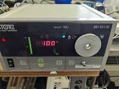 Karl Storz Endoscopy Scb Xenon 300 Light Source 201331 20 Good Condition