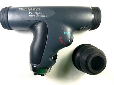 Welch Allyn 3.5v Panoptic Ophthalmoscope With Cobalt Blue Filter - 11820
