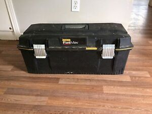Fat max tool box. Firm price.