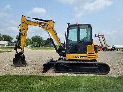 2016 Jcb 85z-1 Excavator Tag Quick Coupler Financing Shipping Deere