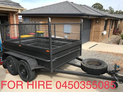 8*5 CAGED TRAILER FOR HIRE Ngunnawal Gungahlin Area Preview