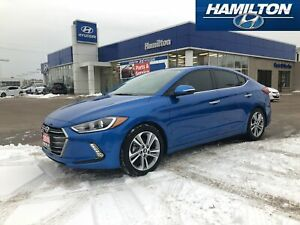 2018 Hyundai Elantra | LIMITED | NAVI | BACK UP CAM | LEATHER |