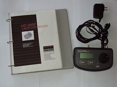Guaranteed Functional Synrad Uc-2000 Laser Controller W All Cables Manual