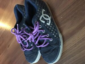 Girls DC shoes size 2