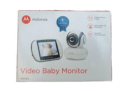 Motorola MBP36S 3.5-Inch Video Baby Monitor (BNIB) Free Postage!