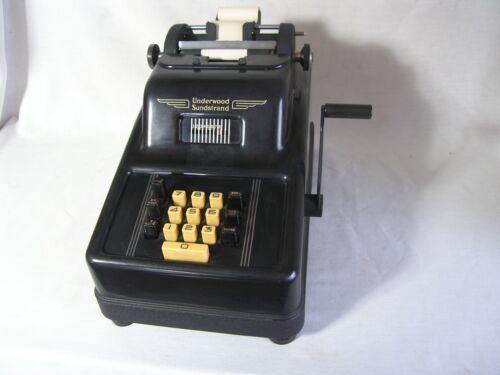 Vintage Underwood Sundstrand 8120 Adding Machine Antique 1940-60 Great Condition