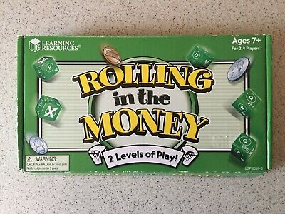 Learning Resources Rolling In The Money Game - Learning Money Games