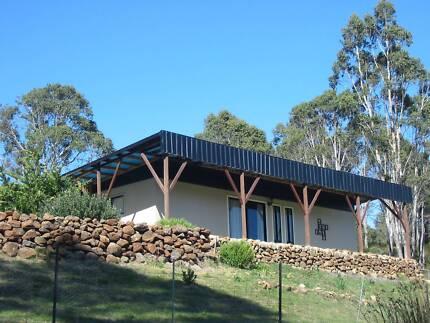 Rural Oasis:  83 Acres - 2 Titles - 2 Dams - Modern Home!