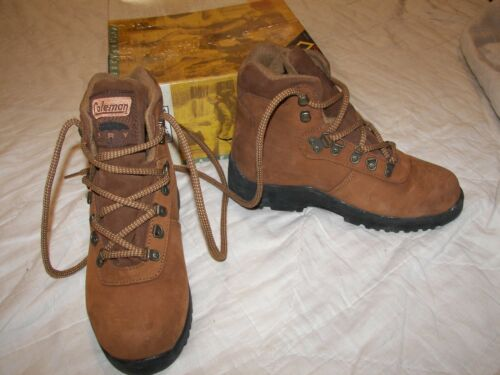 Coleman Dry Leather Waterproof Boots - Youth Size   5.5 - Everest 2