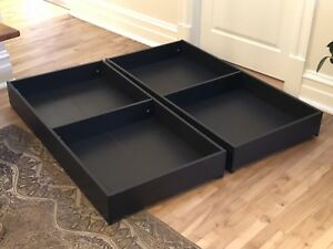 2 tiroirs de rangements / 2 x under bed storage drawers