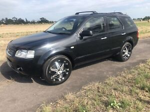 Ford Territory Ghia 7 seater rego, best offer!