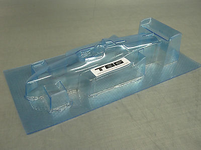 V1 1/24 F1  BODY CLEAR LEXAN VINTAGE
