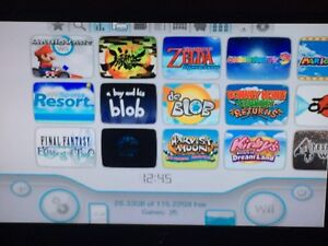 Wii with 35 top Wii games. +3000 retro games
