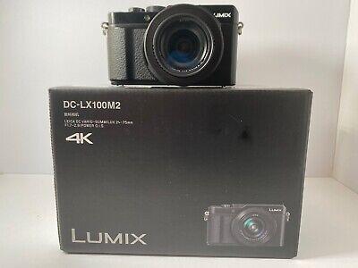 Panasonic LX100 ii / DC-LX100M2 camera. Original Box, Extras, 3 months old