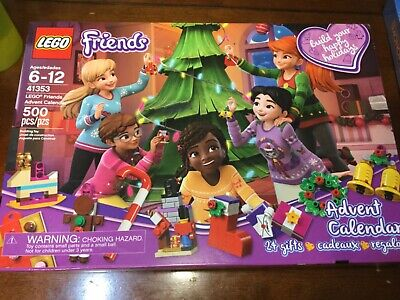 LEGO friends 41353 advent calendar new in box 500pcs