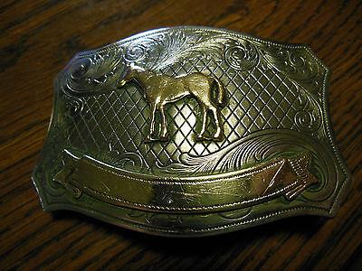 Jewelry & Accessories-Western - Silver Belt Buckle