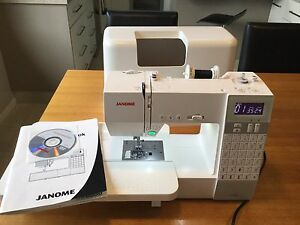 Janome DC 6030 Computerised Sewing Machine Geelong Geelong City Preview