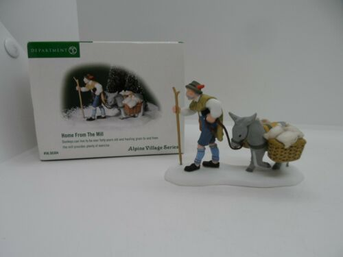 Dept. 56 Home From The Mill Retired 2003 Alpine Village 56. 56304 Excellent