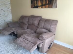 Two Recliner Couches