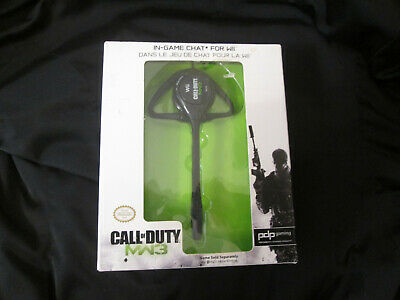 WIRELESS CHAT HEADSET di CALL OF DUTY MODERN WARFARE 3 per WII...
