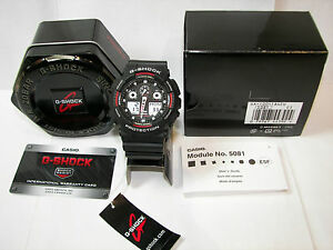 -NEW IN BOX-  Casio G-Shock GA100-1A4