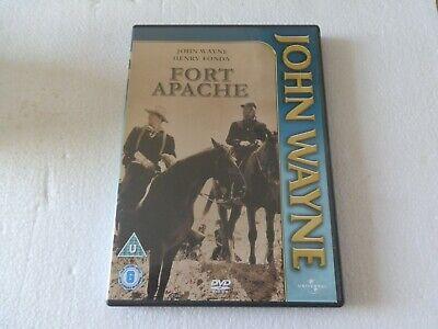 FORT APACHE  ..JOHN WAYNE/HENRY FONDA  ... WESTERN ... DVD